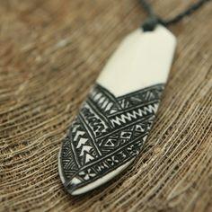 Somoan surfboard tattoo design-love this!