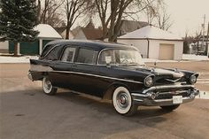 1957 Chevy hearse
