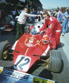 """luimartins: """" Niki Lauda Ferrari """""""