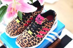 As far as I'm concerned, leopard's a neutral. | Adidas ZX Flux