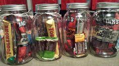 Mason Jar gifts for men!