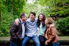 Family Session | Family Portrait | Stone | Fortier Park | Olmsted Falls | Ohio | Covered Bridge