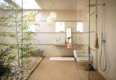 Vasca Da Bagno Stile Giapponese : Arredo bagno giapponese