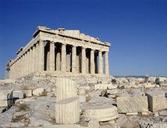 The acropolis and parthenon in Athens, Greece Places Around The World, Oh The Places You'll Go, Great Places, Beautiful Places, Around The Worlds, Beautiful Buildings, Tourist Places, Tourist Spots, Places To Travel