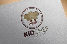 Kid Chef Logo by samedia on Creative Market