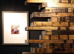 If you're in Portland, swing by our newly remodeled SBUX store on & Burnsid. The wood clad walls are made of reclaimed wood once used as shipping pallets from Indonesia. We salvaged this material from the Portland shipyard and gave it a new life … Shipping Pallets, Micro House, Portland, Behance, Wood, Home Decor, Decoration Home, Woodwind Instrument, Room Decor