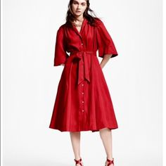 ISO Brooks Brothers Red Silk Dress I'm desperate to find this dress! Please tag me if you have one or know where I can purchase one in size 14 or 16. Thank you! Brooks Brothers Dresses