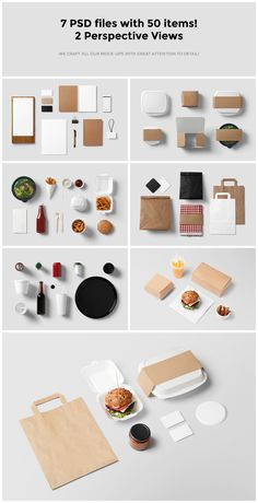 A delicious set of mockups for all your burger joint needs!