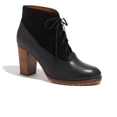 Madewell - The Two-Tone Lace-Up Boot $228