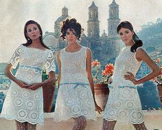 i had one of these dresses... i'm now dated! lol  Colleen Corby in Seventeenmagazine, 1960s.