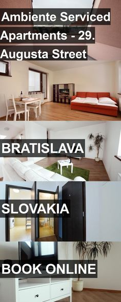 Ambiente Serviced Apartments - 29. Augusta Street in Bratislava, Slovakia. For more information, photos, reviews and best prices please follow the link. #Slovakia #Bratislava #travel #vacation #apartment