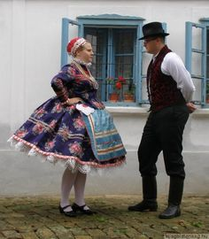 Folk Costume, Costumes, Folk Clothing, Hungarian Embroidery, Folk Dance, Traditional Dresses, Occasion Dresses, Hungary, 1