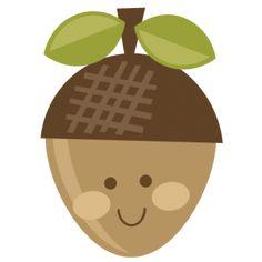 Cute Acorn SVG cut file for scrapbooking acorn svg file cute svg files for cutting machines