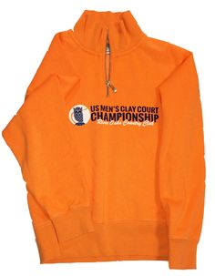U.S. Men's Clay Court Championship Quarter Zip Sweatshirt for women.