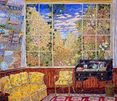 Monet's studio: Damian Elwes