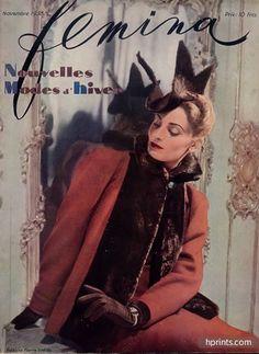 Madeleine Vionnet 1938 Hermès Gloves, Caroline Reboux Hat