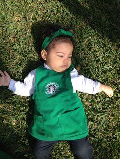 Starbucks costume baby