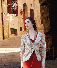 Free 1960's Knitting style Pattern -  Volterra Bobble Stripe Cardigan