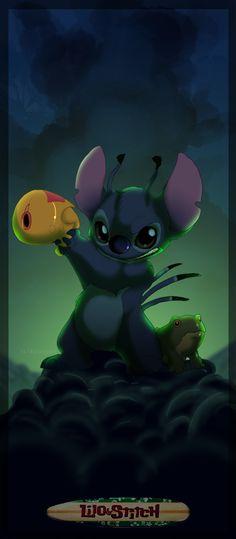 Lilo and Stitch by Kitchiki.deviantart.com on @deviantART