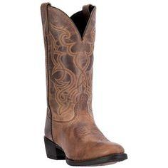 Laredo Women's Distressed Snip Toe Western Boots