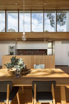 Pavilion Design Concept von Camberwell House of AM Architecture … - Architektur Natur Best Architects, Modern Architects, Home Interior, Interior Design, Design Design, Interior Decorating, Design Ideas, Melbourne Architecture, Modern Architecture House