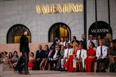 The Atmosphere at Valentino Couture Fall 2015