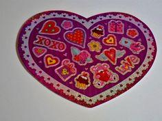 'Cute n' Colorful' Valentine Stickers