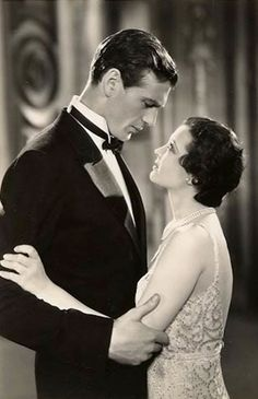 Gary Cooper and Sylvia Sidney in City Streets 1931.