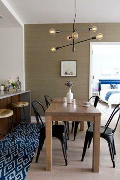 couleur tendance et décoration de cuisine avec nuances neutres
