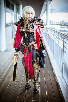Adepta Sororitas - Sister of Battle Celestian - Warhammer 40,000 Cosplay by Okkido.