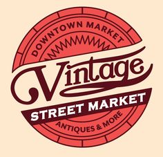 Vintage Street Market is held once a month under the Market Shed. Lots of antiques, vintage goodies, and must-haves to check out! http://vintagestreetmarketgr.com/