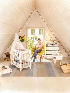 Micasa Kinderzimmer mit Babybett EMELIE und Wickelkommode aus dem Programm FLEXA