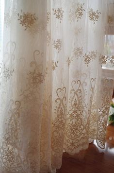 ivory cream Lace fabric Embroidered tulle lace fabric mesh lace fabric curtain fabric scalloped lace fabric 2019 ivory cream Lace fabric Embroidered tulle lace fabric vintage lace fabric The post ivory cream Lace fabric Embroidered tulle lace fabric mes Tulle Fabric, Curtain Fabric, Tulle Lace, Lace Curtains, Vintage Curtains, Drapery, Victorian Curtains, Shabby Chic Curtains, Modern Curtains