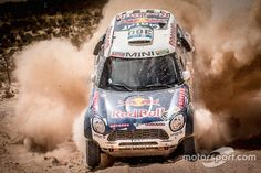 Mini: Nasser Al-Attiyah and Matthieu Baumel Rally Car, Mini, Goose Bumps, South America, Pictures