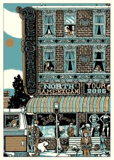 Belle And Sebastian 2006 Tour by Manny Silva