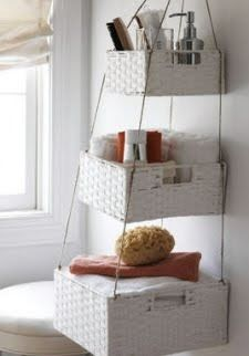 need some more storage space? but don't have the room for more furniture? this little DIY idea will fix that problem.  If you would like to ...