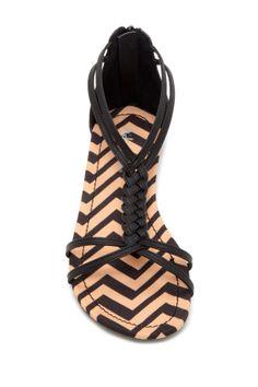 Braided + chevron | sandals