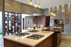 Construindo Minha Casa Clean: Consultoria de decoração: Cozinha grande e moderna de fazenda!