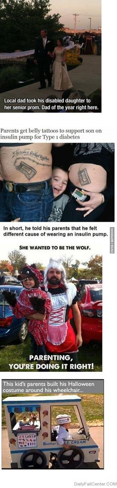 Parenting... you're doing it right!