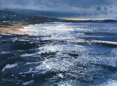 Richard Thorn - Last of the Light - watercolor
