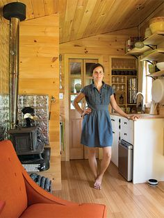 With a little help from her friends and family, a young Ulster County woman builds a tiny home that's completely off the grid