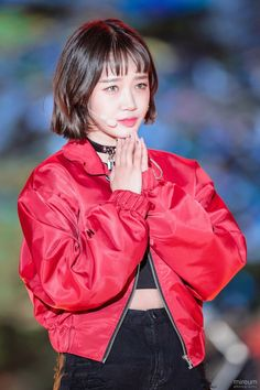 Rain Jacket, Bomber Jacket, Choi Yoojung, Ioi, Windbreaker, Sweet, Jackets, Fashion, Candy