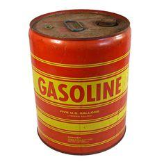 Vintage Industrial Gas Can @flea_pop