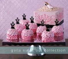 Girls Night Out favors and decorations  #vidadivinedesign.com  https://www.facebook.com/#!/Vida.Divine.Design