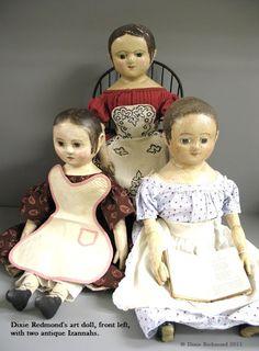Northdixie Designs: Dixie Redmond's Folk Art Dolls