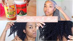 HOW I DO A BENTONITE HAIR MASK   NATURAL HAIR [Video] - https://blackhairinformation.com/video-gallery/bentonite-hair-mask-natural-hair-video/