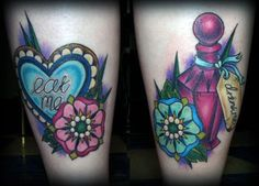 eat-me-drink-me-flower-tattoo-alice-in-wonderland-girly-design-distort-grow-shrink-size-body-art-tat-ink.jpg (500×359)
