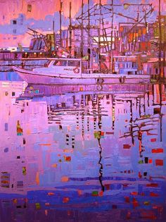 """""""Color At Dawn"""" by René Wiley by Rene' Wiley Gallery Oil ~ 40 x 30"""