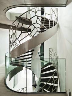 Escada elíptica Arquiteto: EeStairs