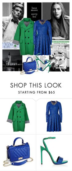 """Love More, Worry Less"" by marina-volaric ❤ liked on Polyvore featuring Dsquared2, Matthew Williamson, Yves Saint Laurent and Blue Nile"